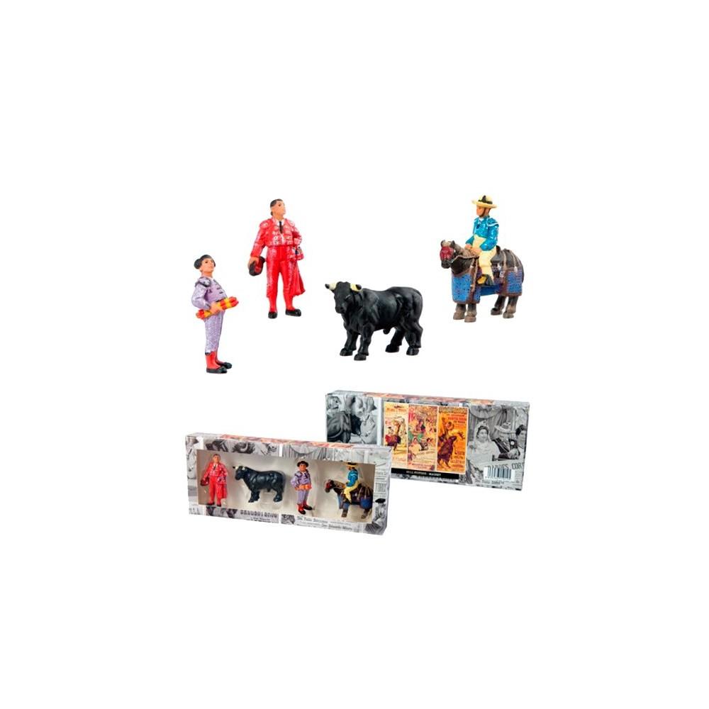 Set of four bullfighting magnets