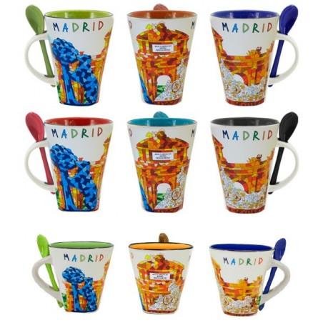 """Tasse Mug """"Madrid"""" monuments"""