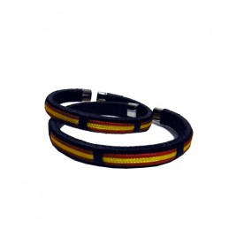 Spain Flag thread bracelet