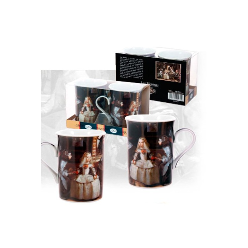 """Set of two cups """"Las Meninas"""""""