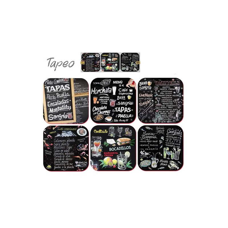 "Coasters ""Tapas Bar"""