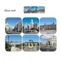 Monuments of Madrid coasters