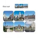 Posavasos de monumentos de Madrid