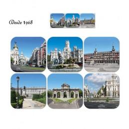 Sous-verres monuments de Madrid