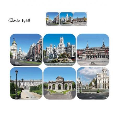 "Posavasos de ""Monumentos de Madrid"""