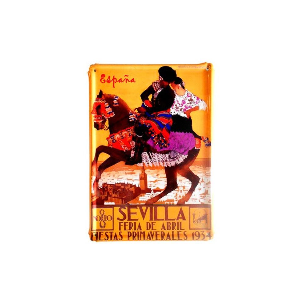 """""""Spain Vintage"""" metalic plates"""