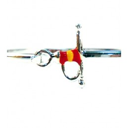 Bullfighting bracelets with estoque and Spanish flag