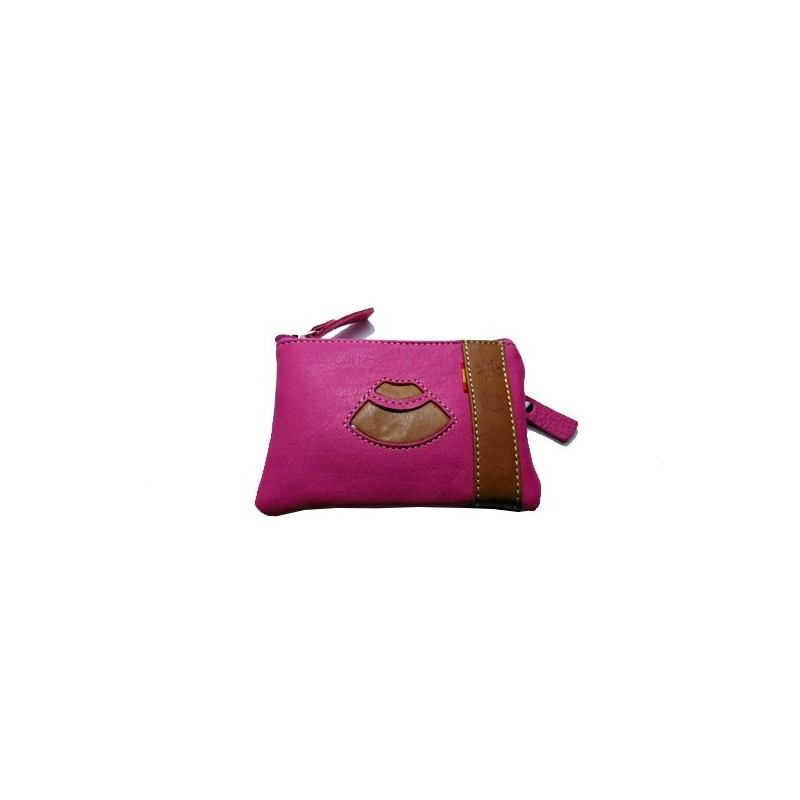 Matador cape coin purse Ubrique leather