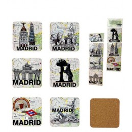 """Posavasos colección """"Madrid"""""""