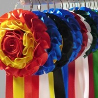 Bull ribbons rosettes from breeders of brave bulls I Bullfighting Shop